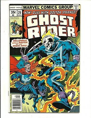 GHOST RIDER (Vol.1) # 29 (DR. STRANGE APP. CENTS ISSUE, APR 1978), FN