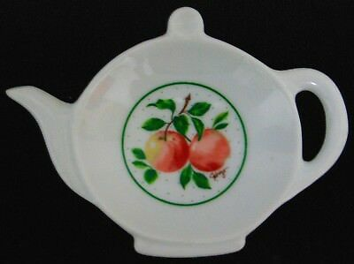 George Good White Tea Pot Tea bag Holder by Fabrizio Made in Japan