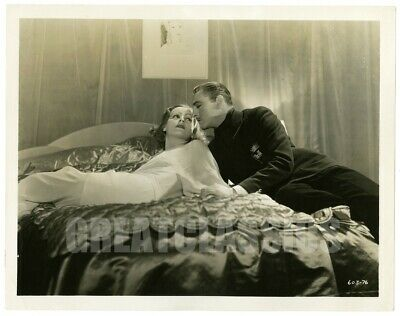 Greta Garbo John Barrymore Grand Hotel '32 Beautiful Original Vintage Photograph