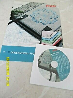 Diminsional Flora Machine Embroidery Multi Format CD