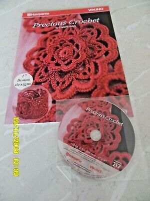 Precious Crochet Machine Embroidery CD