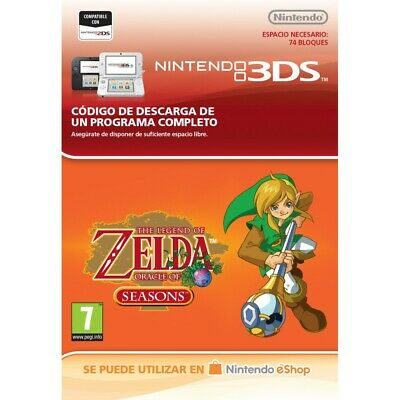 The Legend Of Zelda: Oracle Of Seasons Nintendo 3Ds Código De Descarga Digital
