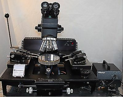 "Micromanipulator 6"", Mitutoyo Microscope prober Refurbished 1 YEAR Warranty"