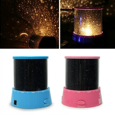 Romantic Star Sky Starry Night LED Cosmos Projector Lamp Kids Gift new