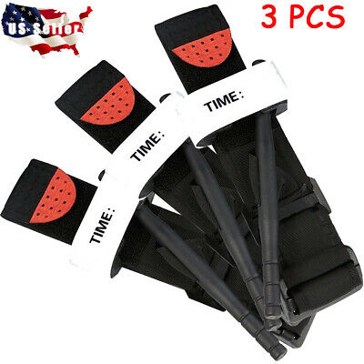 Tourniquet Hunting Tactical Tip Emergency Medical Combat Application One Hand US