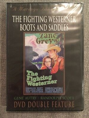 The Fighting Westerner/Boots and Saddles (DVD)