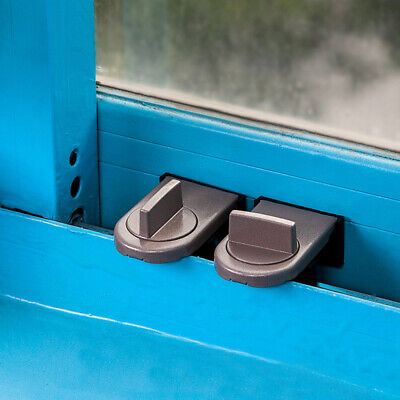Kids Cabinet Safety Lock Security Stopper Baby Sliding Window Locking System New