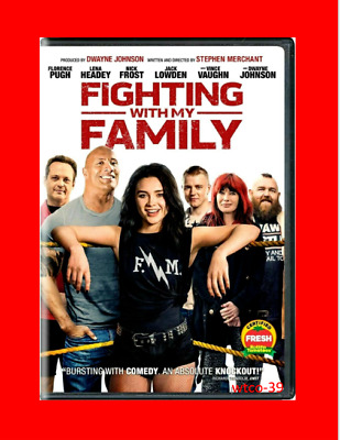 Fighting with My Family [DVD] [2019] NEW-Dwayne Johnson-PRE-SALE SHIP ON 5/14/19