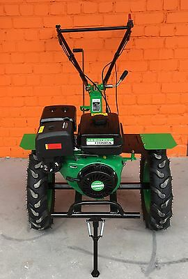 Cultivator Tiller Agrotech 16HP 12kW big wheels warranty ploughs petrol NEW