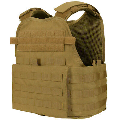 Condor MOPC-498 Molle Operator Plate Carrier Body Armor Chest Rig OPS Vest Brown