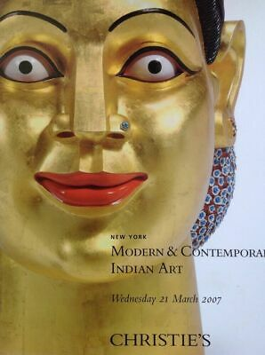 79 Christie's MODERN AND COMTEMPORARY INDIAN ART 21 Mar 2007 New York sale;1813