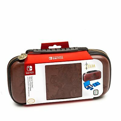 Nintendo Switch Zelda Breath of The Wild Carrying Case – Protective Delux... NEW