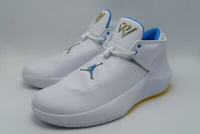 newest b2a7e 14efb Nike Jordan Why Not Zero.1 UCLA Russell Westbrook AR0043-100 Size 10.5 new