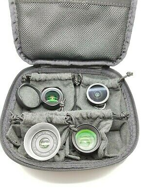 Moment 10mm, 18mm, 60mm and 170mm. Lens and Moment Travel Case Carry Up to 4