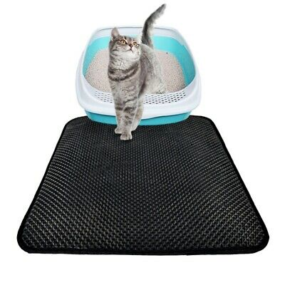 Waterproof Double~Layer Cat Litter Mat Trapper Foldable Comfort Pad Pet Rug Home