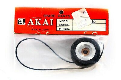 Unused AKAI 1800D-SS 1800-SS Spare Parts Kit Pinch Roller and Belt