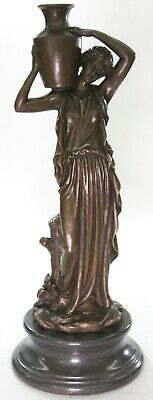 Hand Made Bronze Sculpture Large Maiden Roman/Greek Style Office Decoration DEAL