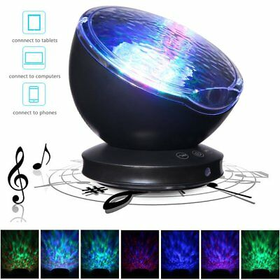 CALMING AUTISM SENSORY LED Light Projector Toy Relax Blue