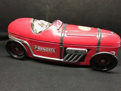 Arnotts Race Car Collectable Biscuit Tin