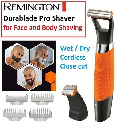 Cordless Electric Body Face Shaver Beard Clipper Trimmer Groomer Wet Dry Mens