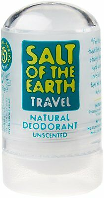 Salt of The Earth Crystal Spring Natural Deodorant 50 g FREE POST