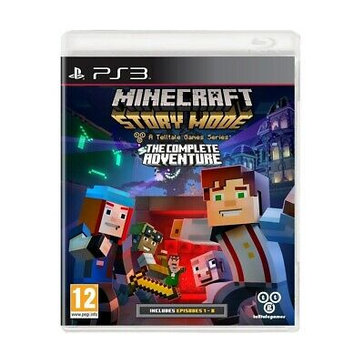 Juego Ps3 Minecraft Story Mode-The Complete Adventure Ps3 4631996