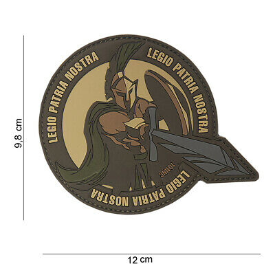 PATCH 3D PVC LEGIO PATRIA NOSTRA  10117  airsoft outdoor bike tactical
