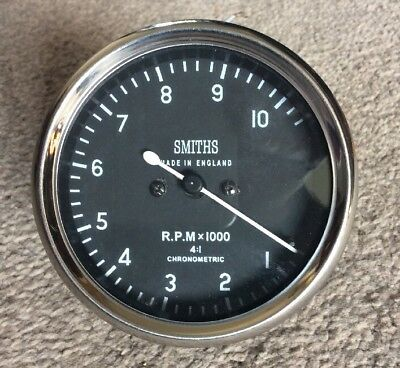 Smiths Replica Chronometric  Mechanical Revcounter 4:1 Ratio