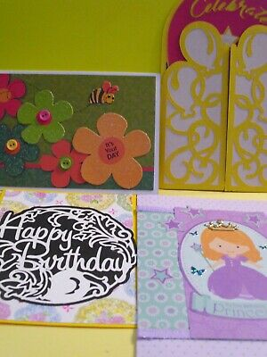 Home Made Hand Birthday Greeting Cards