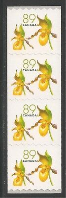 Canada #2129 (A887) VF MNH - 2005 89c Yellow Lady's Slipper Flower Coil Stamps