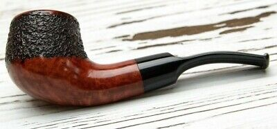 Briar Pipe For Smoking Tobacco Rusticated Personalized Wooden Handmade Gift Man