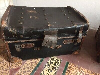 Vintage Luggage Travel Trunk Chest Retro Coffee Table Storage Toy Clothes Box