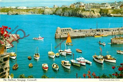 Picture Postcard-:Newquay, The Harbour [John Hinde]