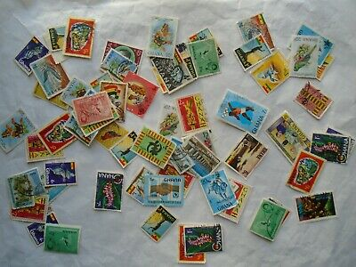 Ghana Postage Stamps  as shown in picture