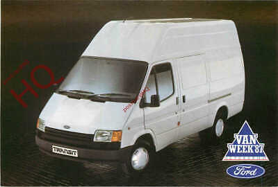 Picture Postcard- FORD TRANSIT VAN, LWB, HIGH ROOF OPTION