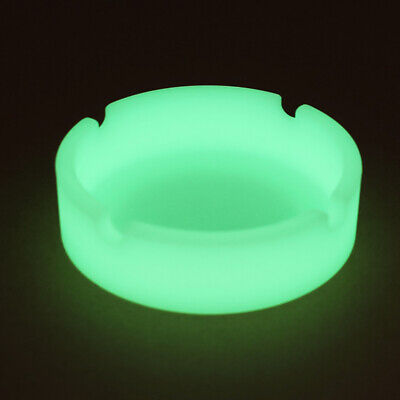 Glow In The Dark - Luminous Silicone Ashtray For Smoking Cigarette Cigar Pipe H