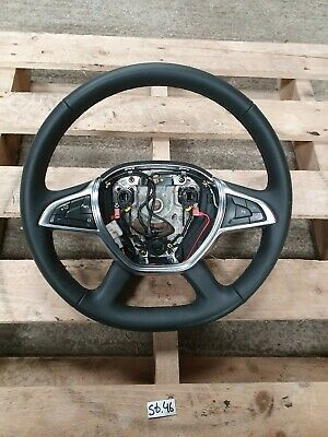 2017 2018 Dacia Duster Drivers Steering Wheel Leather 484000872R