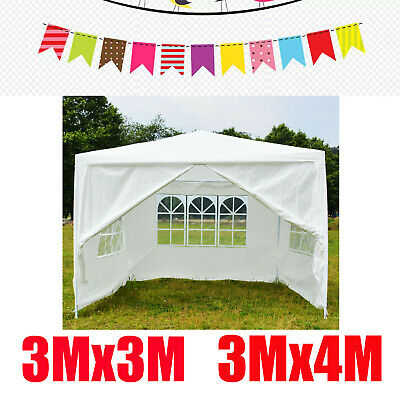 3Mx3M 3Mx4M 120g Heavty Duty PE Gazebo With Windows Sides For Wedding Party