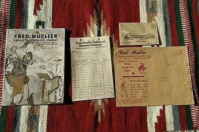 Fred Mueller Original Saddle Harness Catalog #76 with Envelope & Order form