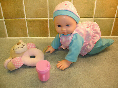 Chad Valley Babies to Love Crawling Doll. With Sound and Movement