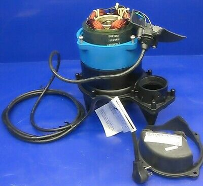 Goulds WW0511A 1/2HP Submersible Sewage Pump 115V Auto For Parts or Repair