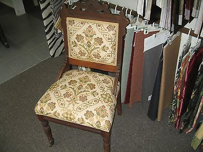 Antique Furniture Victorian East Lake Chair For Sale