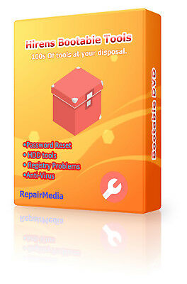 Hirens Boot Repair Restore For Windows Bootable Recovery DVD Software Suite