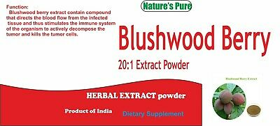 BLUSHWOOD BERRY 20:1 Extract Powder Fontainea picrosperma EBC - 46