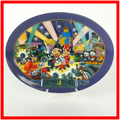 Disney MGM Studios Hollywood Premiere 3D Decor Plate Mickey Minnie Mouse RARE