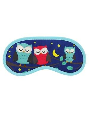 Masque de Sommeil Snoozing Owls