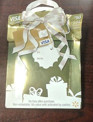 $50 Gift Card Brand New Activated ready to use