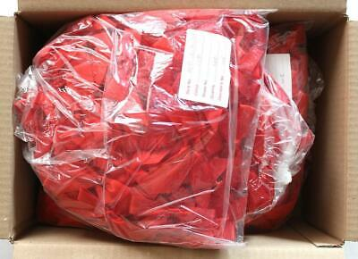 1000 (approx) x Red Ribbon Bows. Craft making, Resale etc