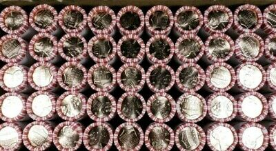 2019 D Lincoln Cent Full Box 50 Rolls 2500 Pennies GEM BU Uncirculated Best Of!