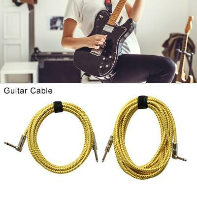 6M Black Guitar to USB Interface Link Cable Audio Adapter for PC/MAC Recording